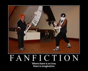 Writing fan fiction? cheer up! (2/5)