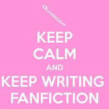 Writing fan fiction? cheer up! (5/5)