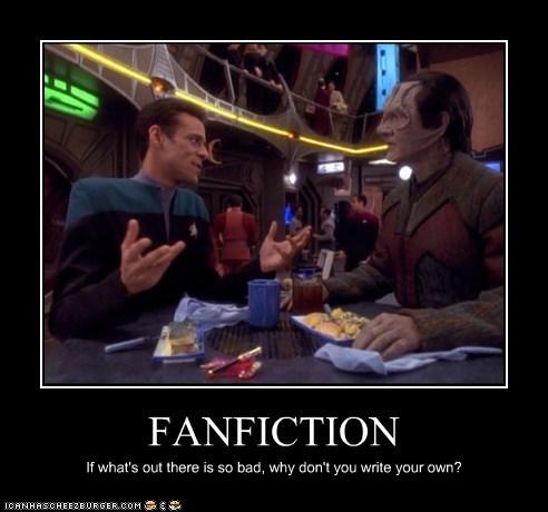 Writing fan fiction? cheer up! (3/5)